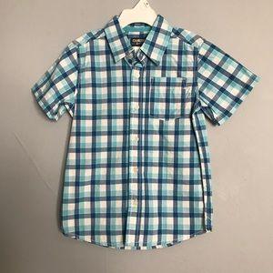 Boys Osh Kosh B'gosh Button up Short Sleeve Shirt